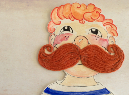 THE BOY WHO WAS BORN WITH A MOUSTACHE 12TH-16TH SEPT  pact