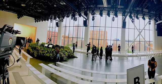 Closing out Fashion Week! #nyfw #nyfw2018 #calvinluo #productionlife