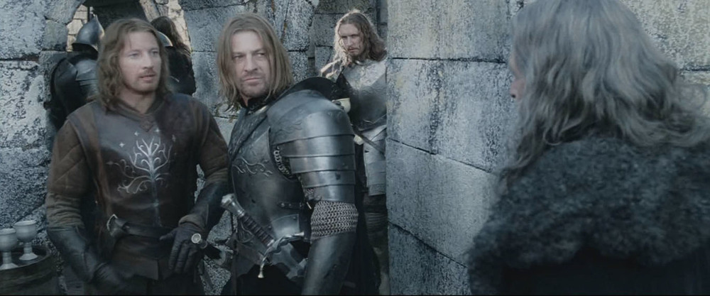 Matty seen here (centre BG) as an extra in Lord of the Rings: The Two Towers.