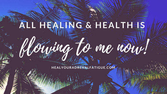 All healing and health is flowing to me now!