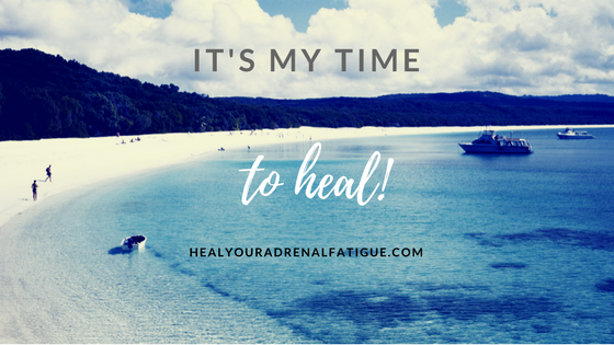 It's my time to heal!