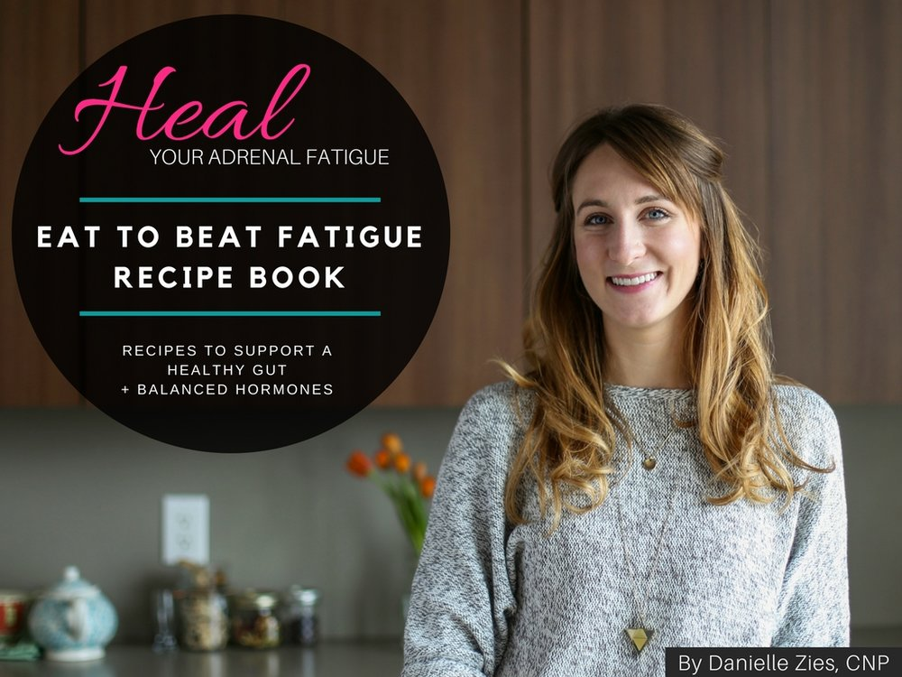 NOURISH - The Eat to Beat Fatigue Recipe Book