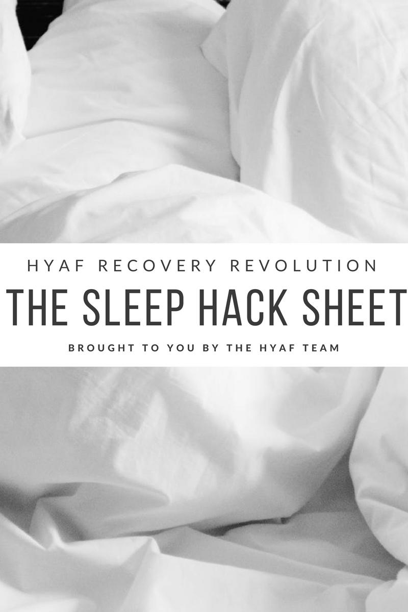 Sleep Hack Sheet