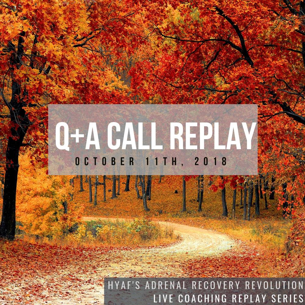 October Q+A