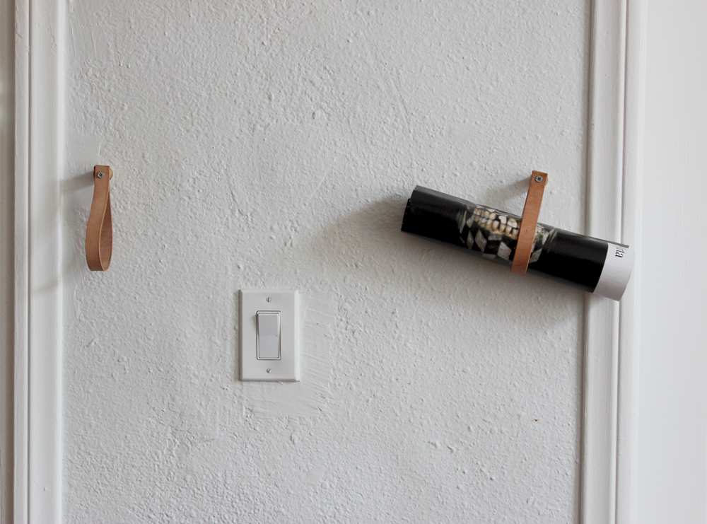 DIY leather wall hanger hometohem.com 2016_6