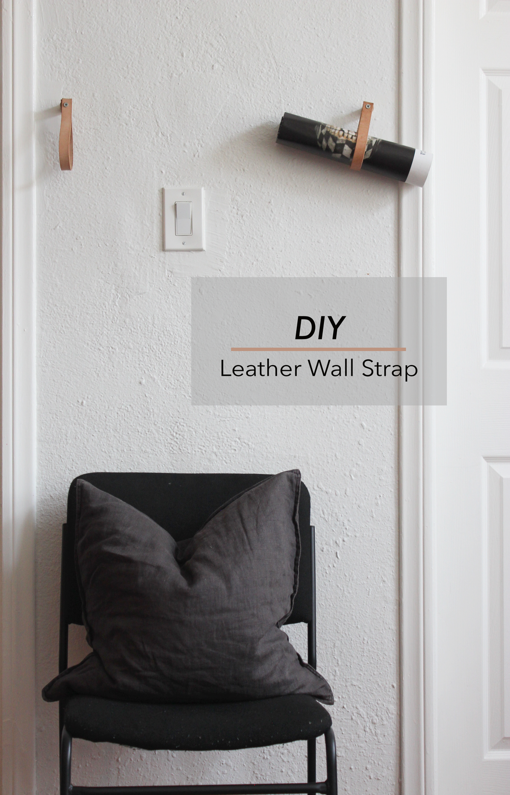 DIY Leather Wall Hanging Strap hometohem.com 2016_8