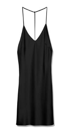 TyLynn Nguyen Habitual Noir Slip Dress