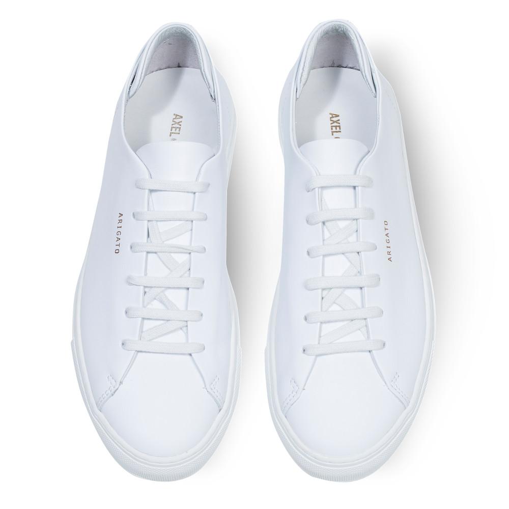 Axel Arigato White Leather Low Sneaker