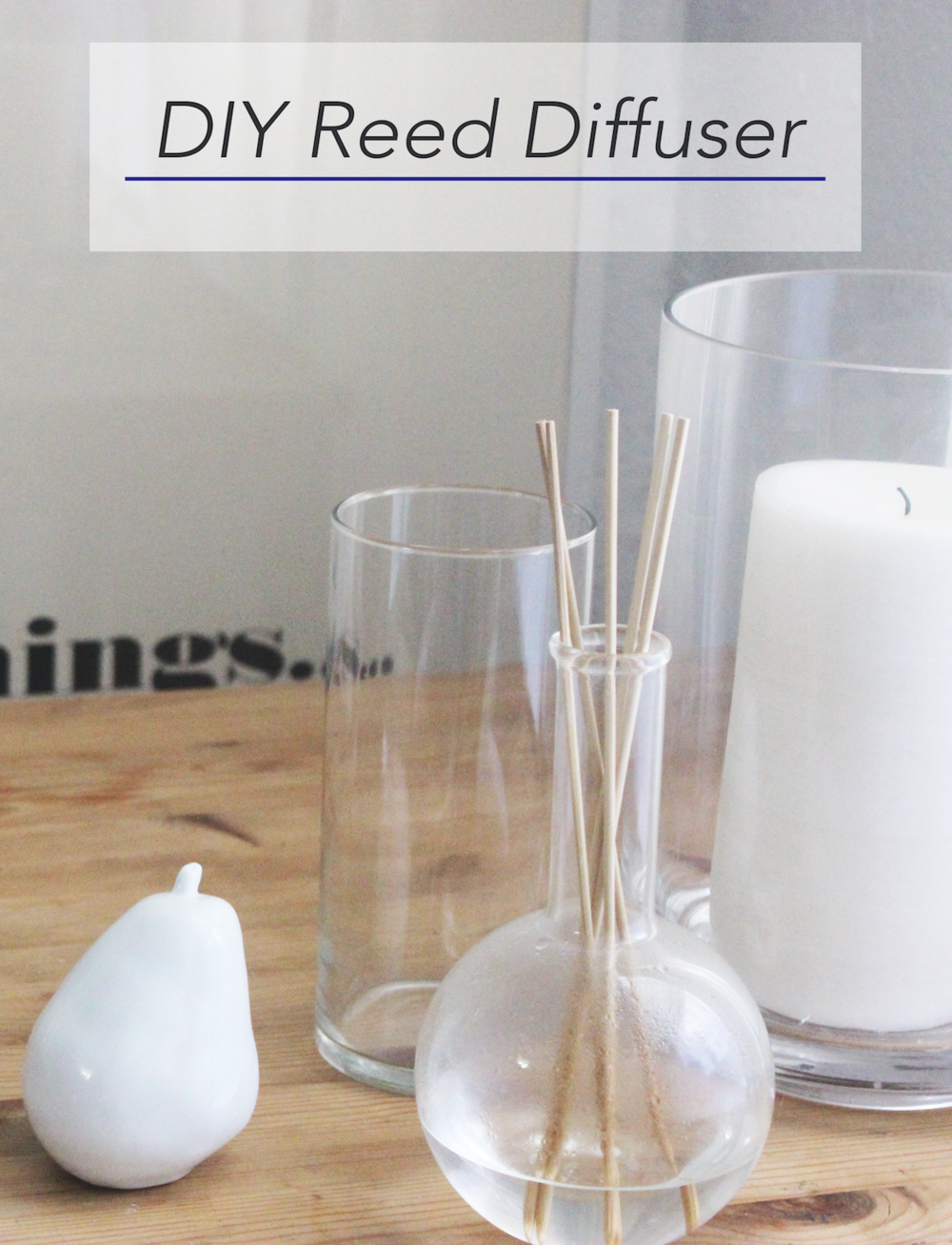 hometohem DIY Reed Diffuser Pinterest