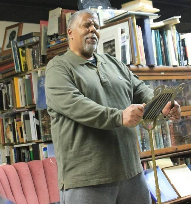 "Charles ""SeaBe"" Banks presenting....at Before Your Quiet Eyes bookstore"