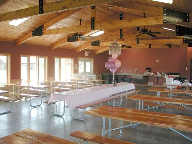 North Lodge interior, King's Bend Park