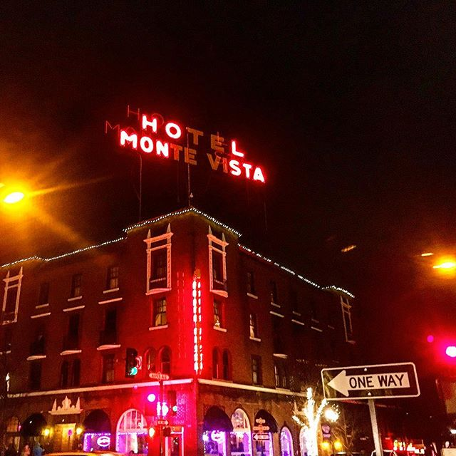 Great show last night at the Monte V! Next stop Phoenix to play at @thelostleaf tonight! #flagstaff #eldergrown #vanlife #livemusic