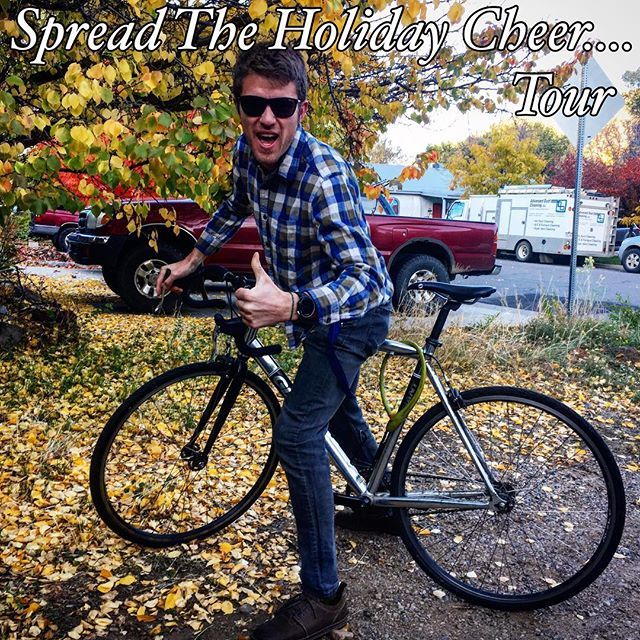 New Mexico, Arizona, Colorado! We're going to be one busy band this next month! Tour dates here: http://www.eldergrown.com/live/@cervantesmasterpiece @ravencafe_prescott @taosmesabrewing @thelostleaf #holidaycheer #musictour #roadbike #fallcolors #roadtrip #livemusic #cervantes
