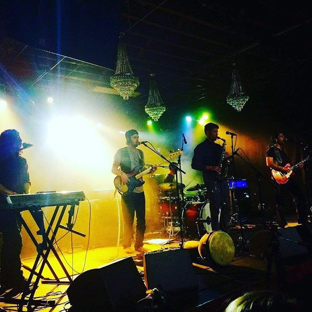 Another amazing photo of our show at @cervantesmasterpiece last week! On to @taosmesabrewing tomorrow! 📸Pete Corrigan #cervantes #cervantesotherside #livemusic #musictour #music #denvermusic