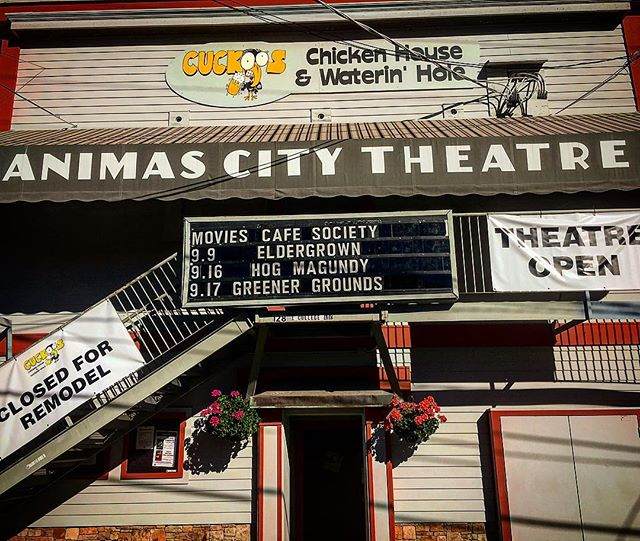 What an amazing one at the @animas_city_theatre with @nicenessband this past Friday night! #marquee #livemusic #animascitytheatre #durango #coloradomusic