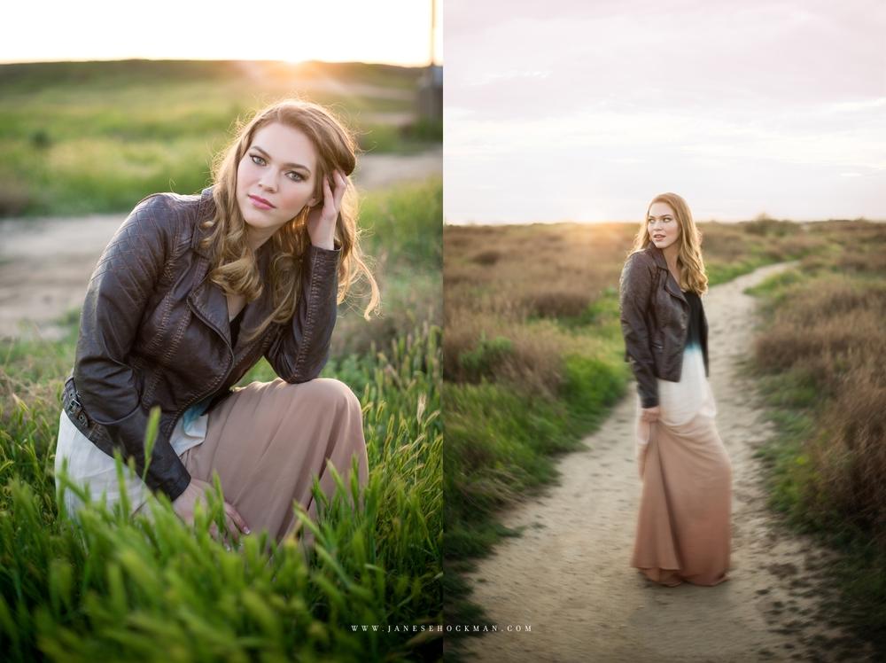 Holly | Janese Hockman Photography | San Luis Obispo, California | High School Senior Portraits | Huntington Beach 2.jpg