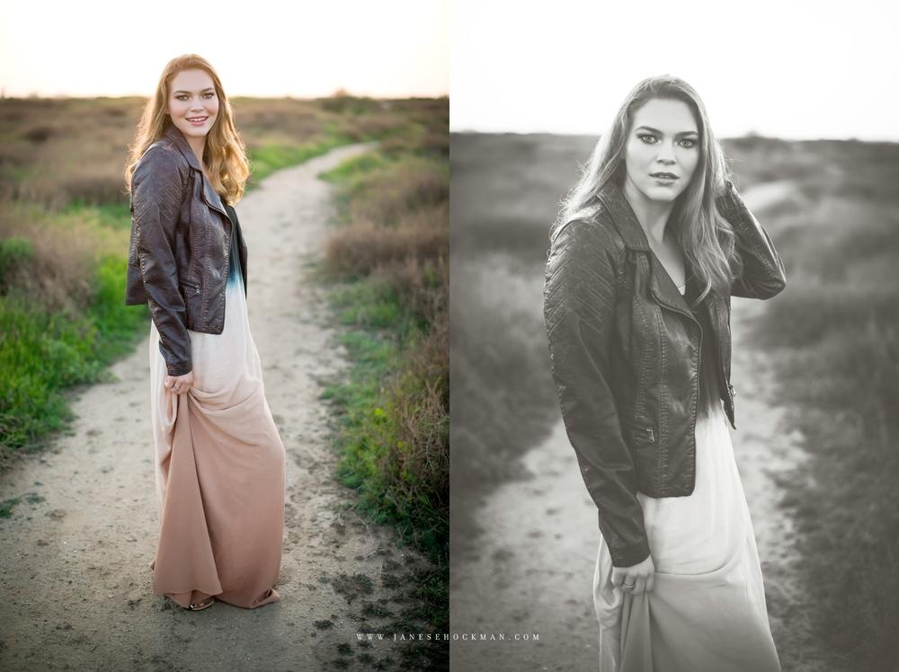 Holly | Janese Hockman Photography | San Luis Obispo, California | High School Senior Portraits | Huntington Beach 3.jpg