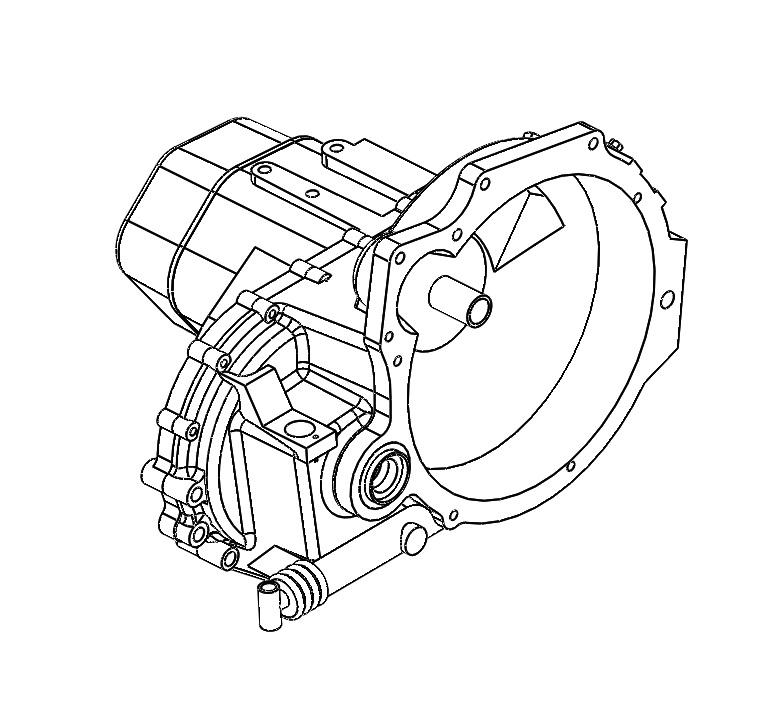 G1170001 Transaxle G3 Rebuilt