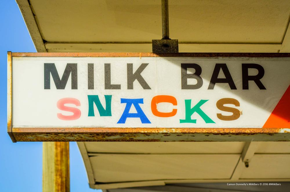 A long forgotten Milk Bar sign in the Western Suburbs of Sydney, 2014. Photo: Eamon Donnelly