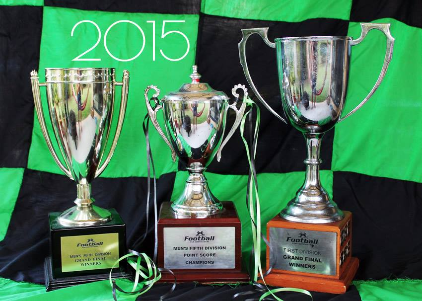 The 2015 Senior Men's Trophies
