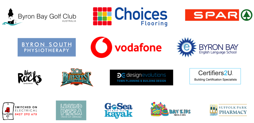 Thanks to all our wonderful sponsors.