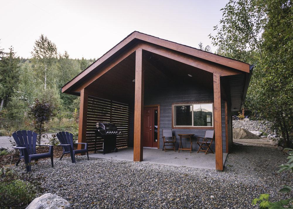 exterior of studio cabin