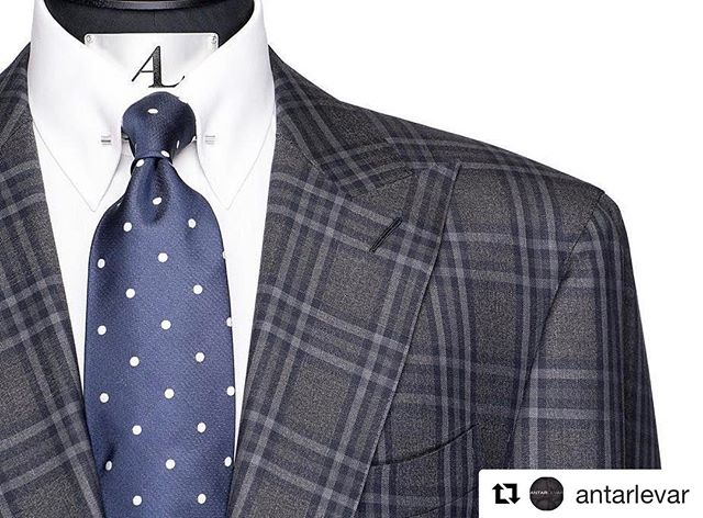 Success is in the details...#Repost @antarlevar with @repostapp ・・・ AL Detailed View. AL Infinity Navy Handmade Tie and Suit! #keepwinning #antarlevar #handmade #tailored #nba #godisgood #grateful