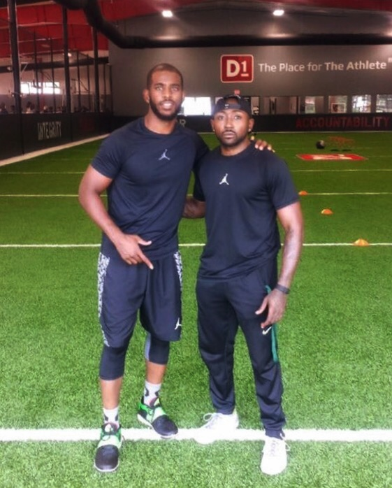 Steve has worked with many world-class athletes including; Justin Gray, Aaron Roundtree, Arnold Vanopstal, Alfred Payton and Chris Paul.