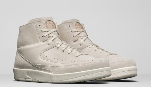 7/15 Air Jordan 2 Decon Sail $160