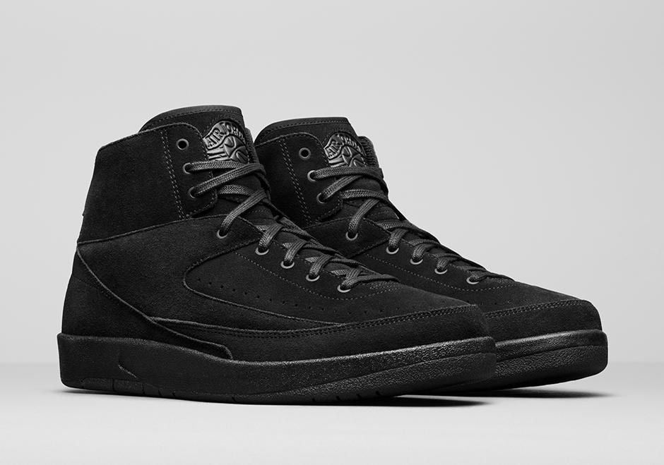 7/15 Air Jordan 2 Decon Triple Black $160