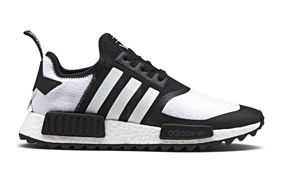 7/15 White Mountaineering X Adidas NMD Trail Black $210
