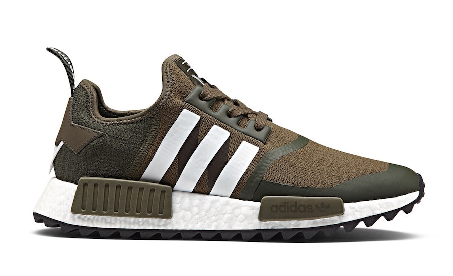 7/15 White Mountaineering X Adidas NMD Trail Olive $210