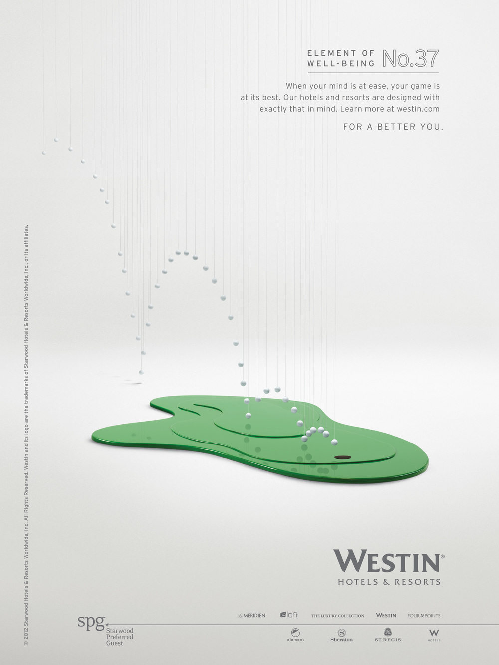 Starwood - Westin Hotels & Resorts :: Elements of Well Being