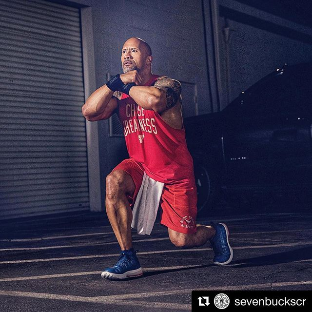 @sevenbuckscr ・・・ The @UnderArmour #ProjectRock1 was built to perform across any workout - from heavy weights to cardio - with features that provide maximum flexibility, support and breathability. All in a limited release and special colorway for #MemorialDay. #ProjectRock #SevenBucksCreative