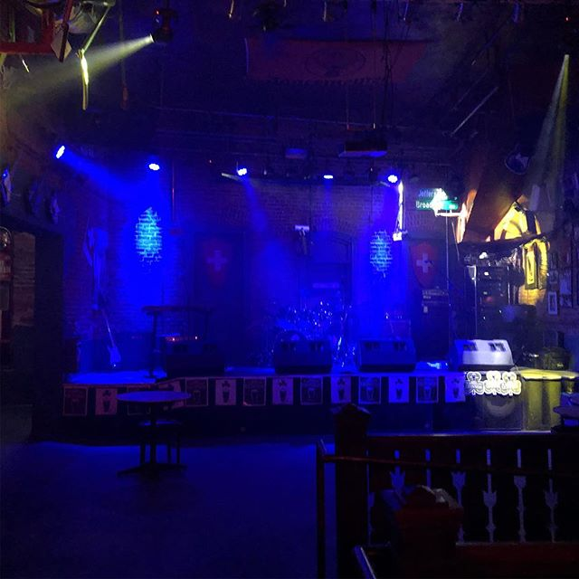 SOS ready to rock the Swiss Pub.