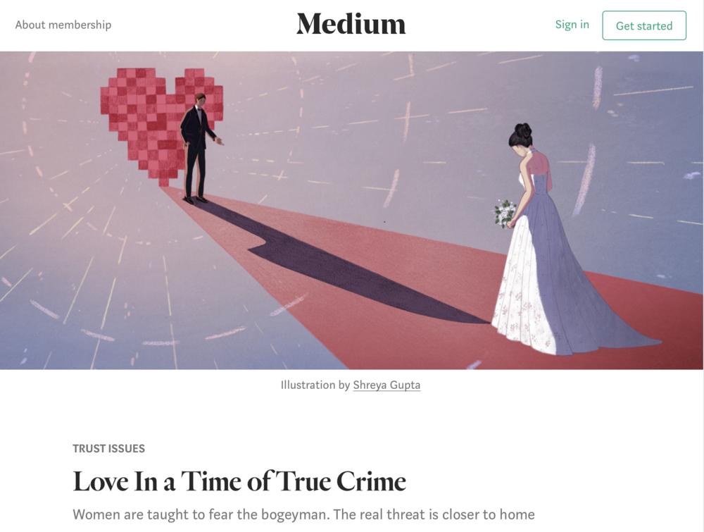 MEDIUM- TRUE CRIME