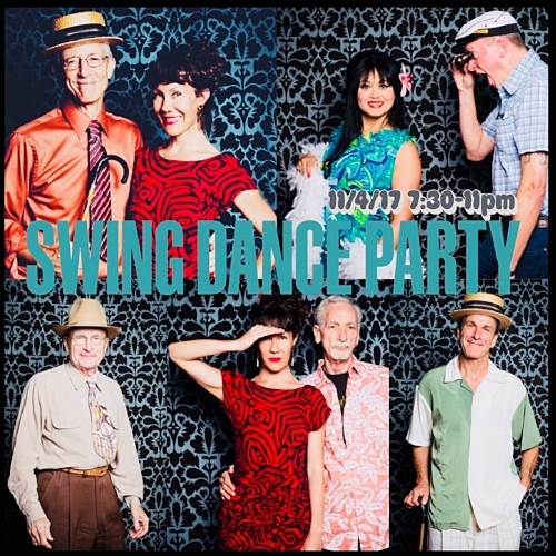 Final Swing Dance Party of 2017November 4, 2017 - 7:30 pm - 11PM167 Tunstead Ave. San Anselmo in Marin County