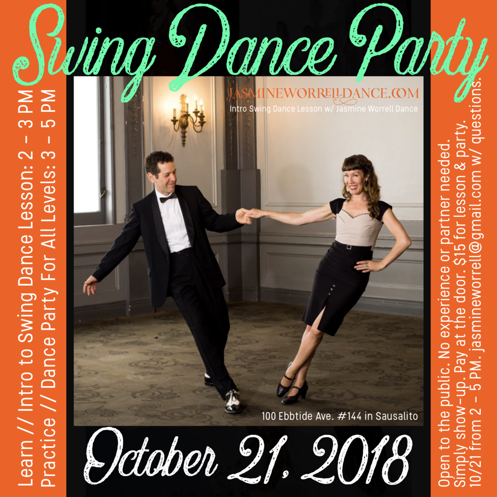 swing dance Sausalito October 2018