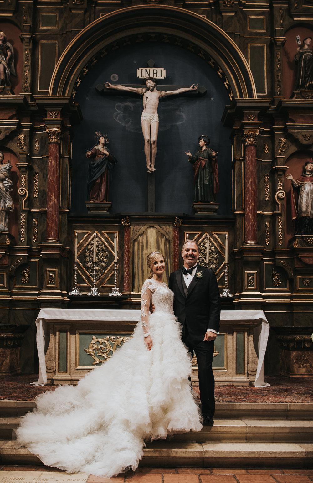 Wedding couple: Andrea and David // Carmel