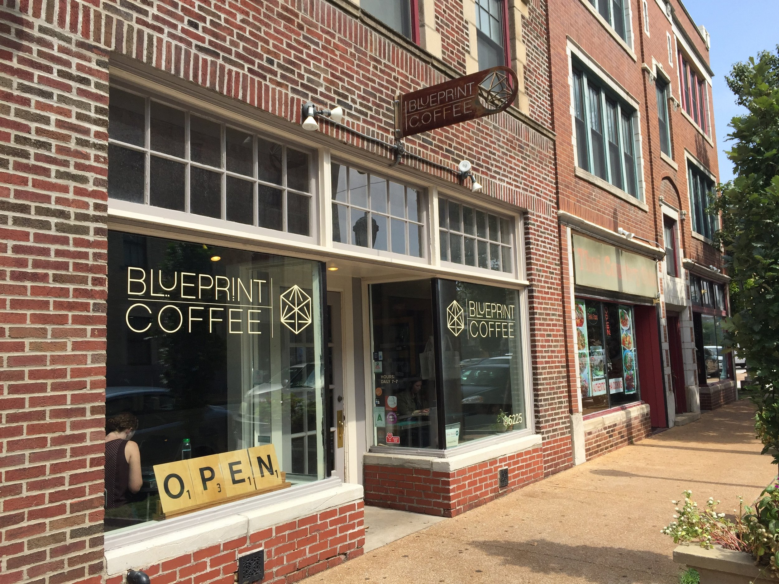 Blog global coffee counter baseball beer and coffee a tourists take on blueprint coffee in st louis malvernweather Image collections