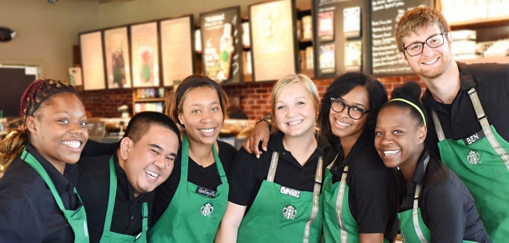 """From our earliest days, diversity and inclusion have been at the heart of how we do business."" (Photo courtesy of Starbucks)"