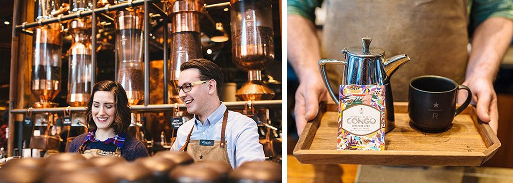Candidates receive the opportunity to visit Starbucks' Roastery and Tasting Room in Seattle. (Photo Courtesy of Starbucks)