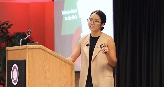 This past Friday we celebrated International Women's Day among various inspirational women at the @ps27empowerment Female Founders Forum. Our CEO and Founder, Ashley Wong Tsui was the keynote speaker and addressed how she started and why she keeps going.