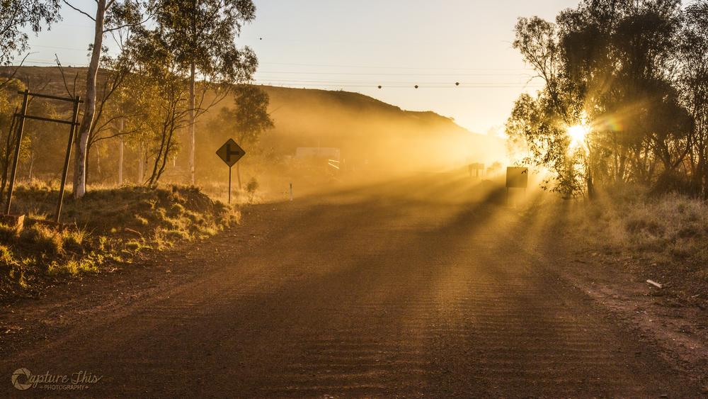 Another dusty Pilbara sunset