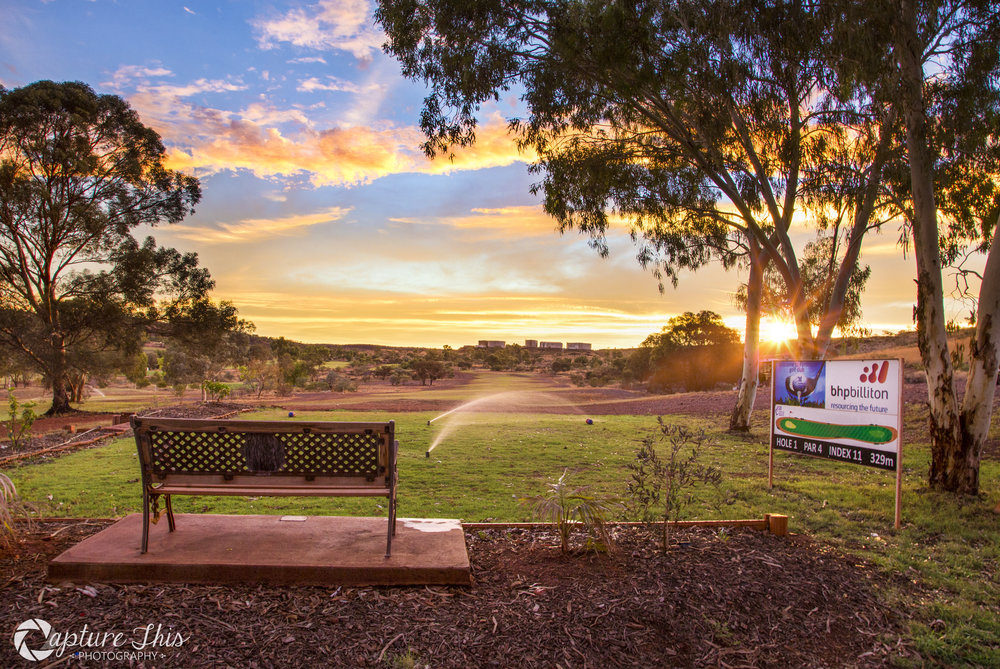 Hole 1 Fortescue Golf Course