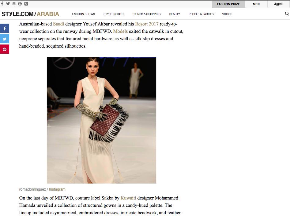 Style.com Arabia - May 2016