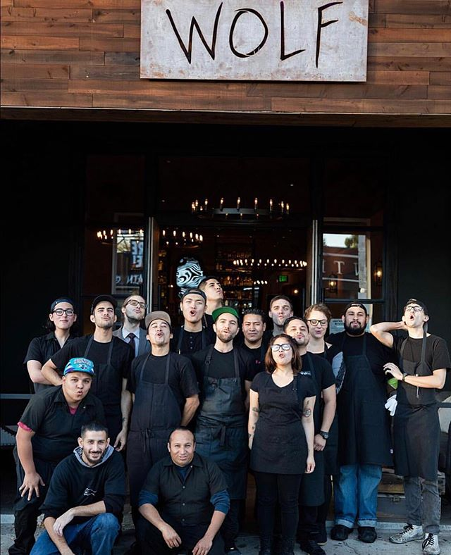 """It comes with great heartache to share that we will be closing both the Wolf and Tacos Lobos restaurants on Melrose. From our pack leader, @marcelvigneron: """"I cannot say enough about my absolutely incredible Wolfpack, that has been with me every step of this journey. While the brick and mortar locations may be closed, the restaurants will continue to live on outside of those walls, as roaming pop-ups, catering, and for special events. I look forward to this next chapter together, and promise to continue my passion for innovation and gastronomy at every turn. Thank you for making Wolf and Tacos Lobos a part of your life, and I can't wait to serve you again very soon. 🐺🖤"""" Thank you Chef, for an epic three years."""