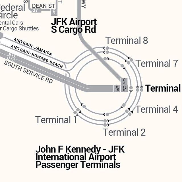The way to #JFK #airports #transit #maps . . . #queens #jfk #aircargo #idlewild #transitmaps #brooklyn #jfkrun @JFKRunwayRun #jfkrunwayrun #t5 #jetblue #delta #panam #worldport #terminal5 #t4 #airtrain #airtrainjfk #nyc #newyorkcity #boros #vanwyck #jamaica #lefferts