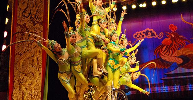 Show de Acrobacias - Beijing