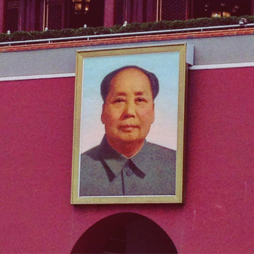 No, Mao no fue el diseñador de la Ciudad Prohibida, ni tampoco es el modelo para mi nuevo peinado...